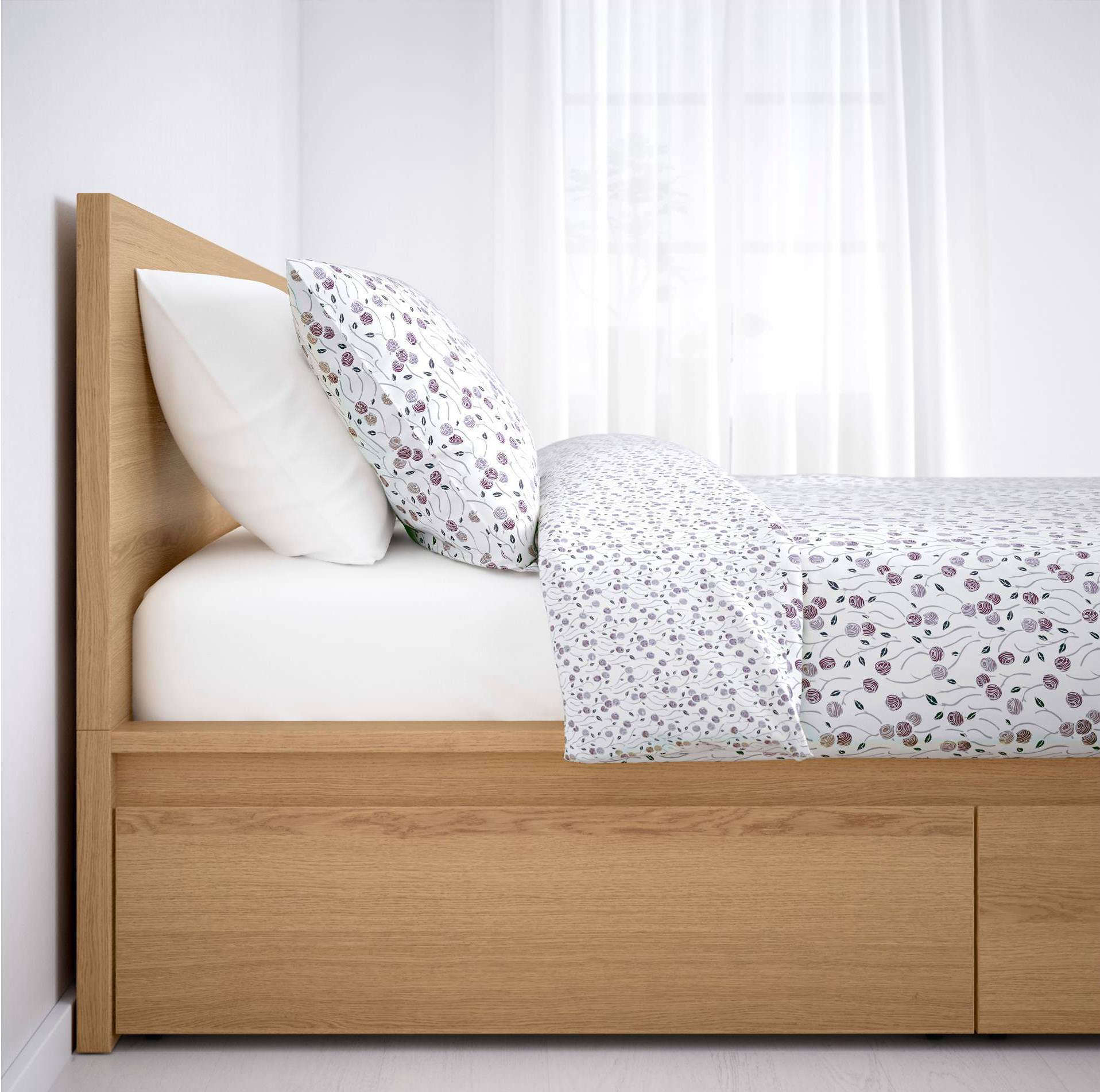 Ikea Malm Bed Storage: Malm High Bed Frame