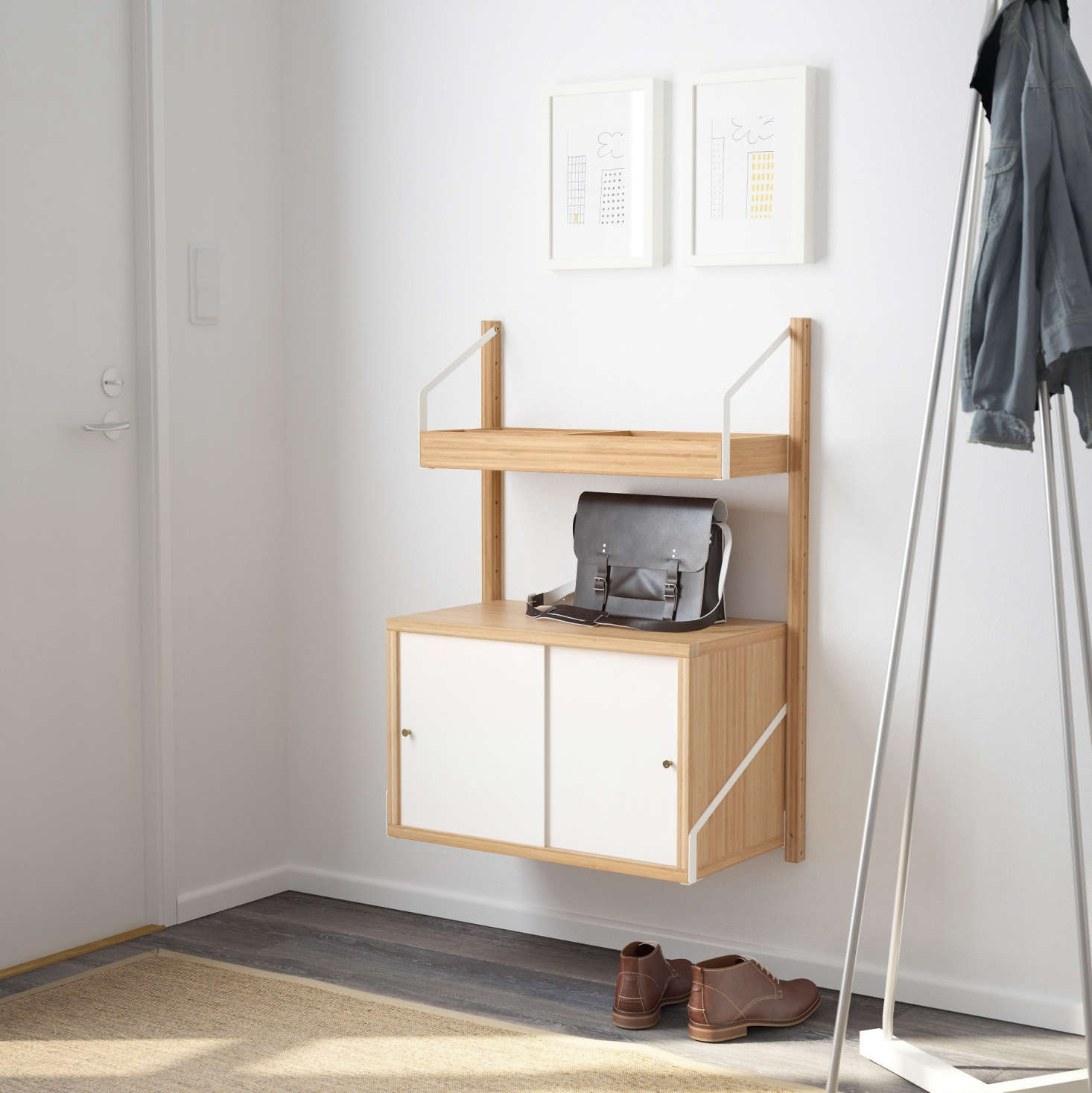Svalnäs Is Ikeau0027s New Modular Wall Mounted Storage System Along The Lines  Of Danish Designer