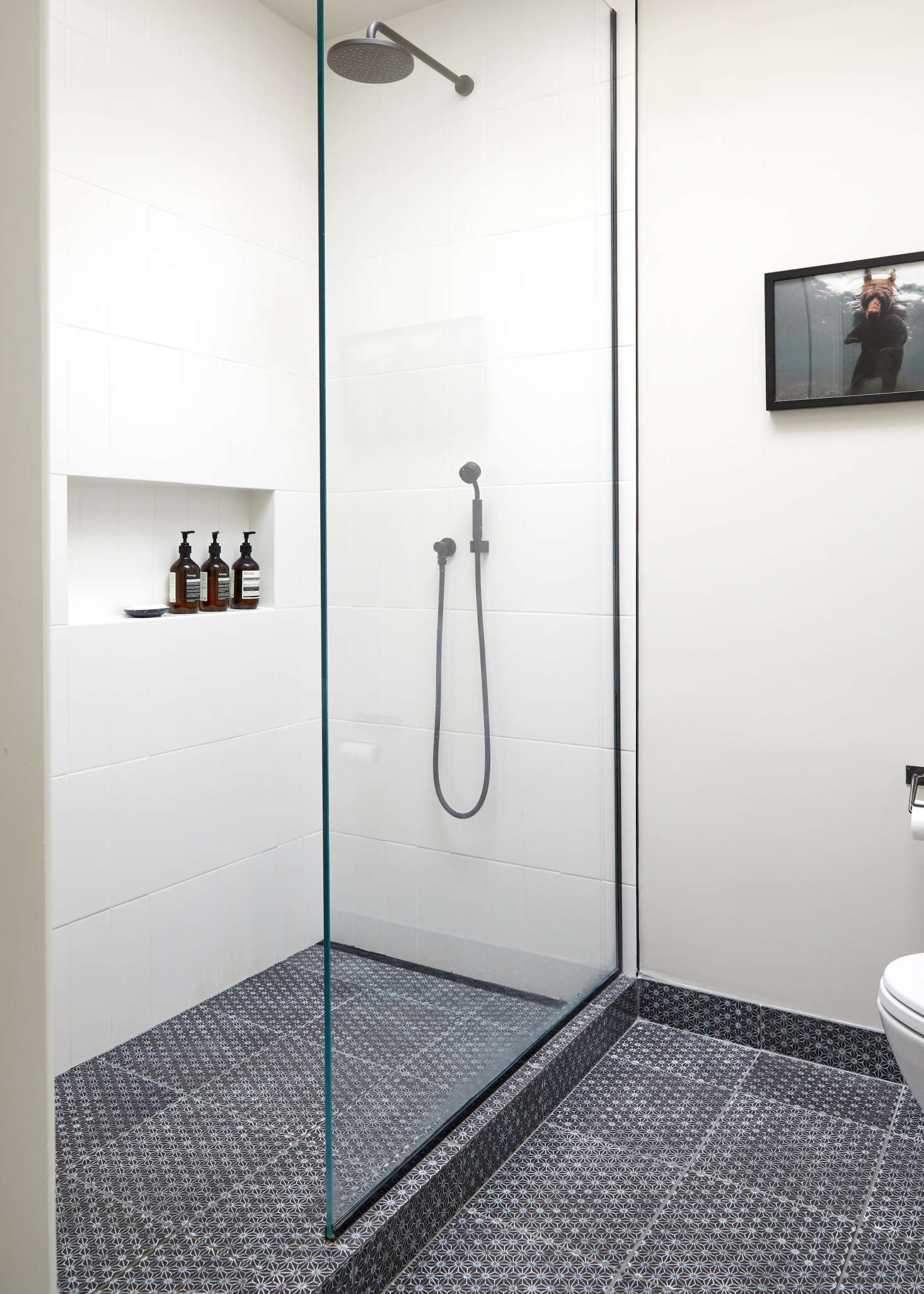 Boston Bathroom Remodeling Minimalist warm minimalism in a young architect's own brooklyn townhouse