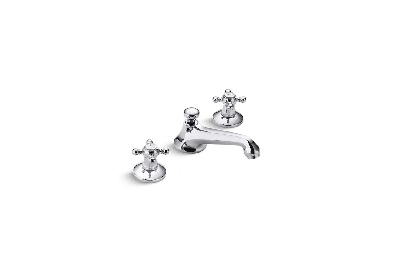 Kallista Sink Faucet Traditional Spout Cross Handles