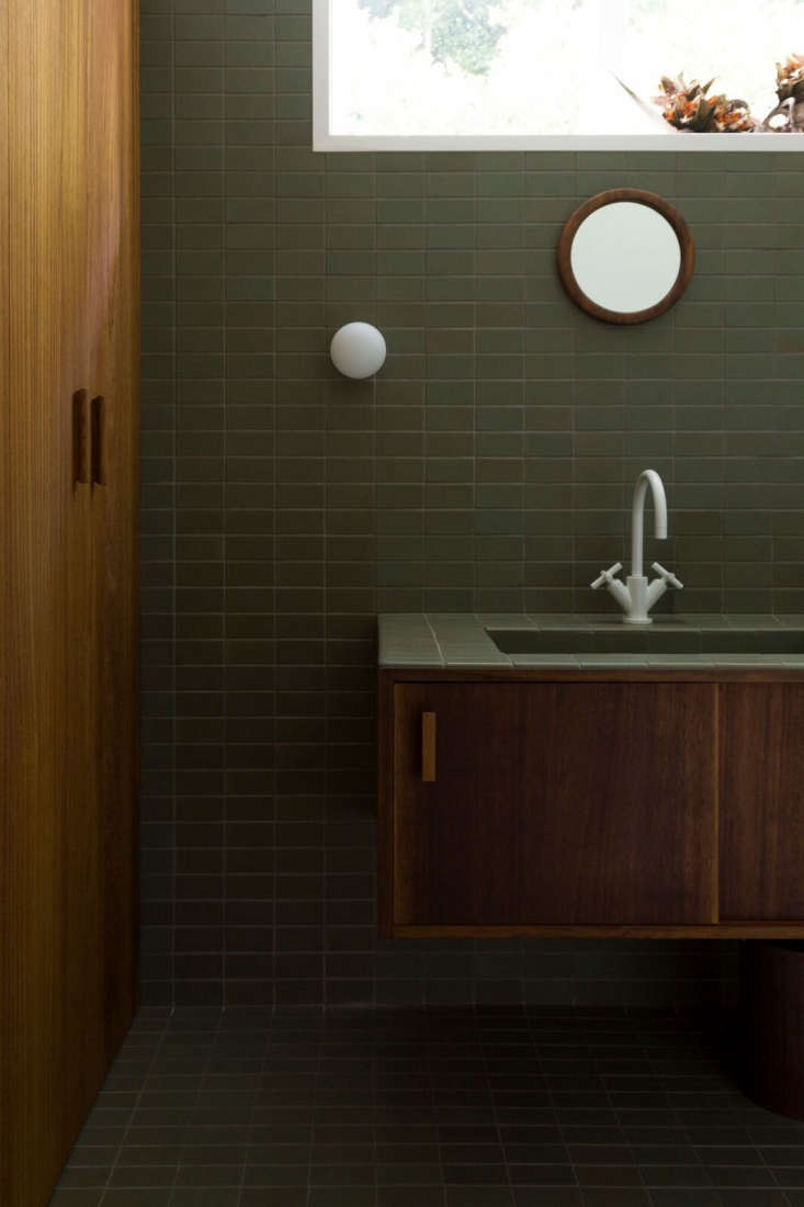 Bathroom of the Week: Two Bath Remodels with Bold Green Tile