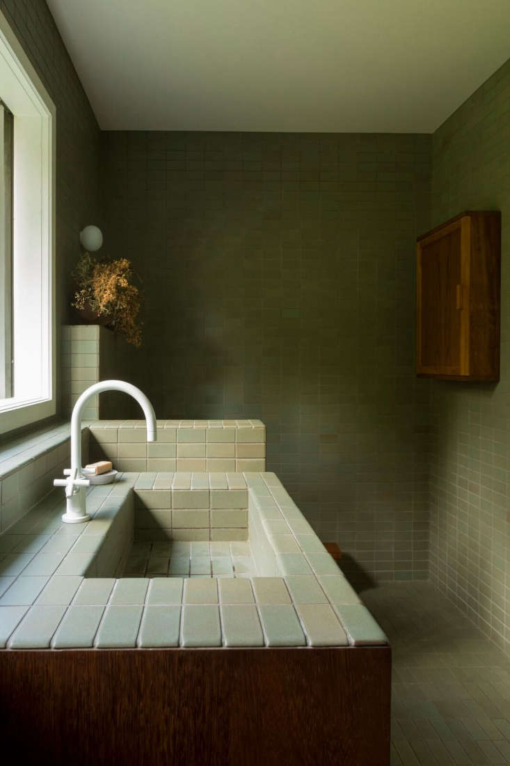 Bathroom Of The Week Two Bath Remodels With Bold Green