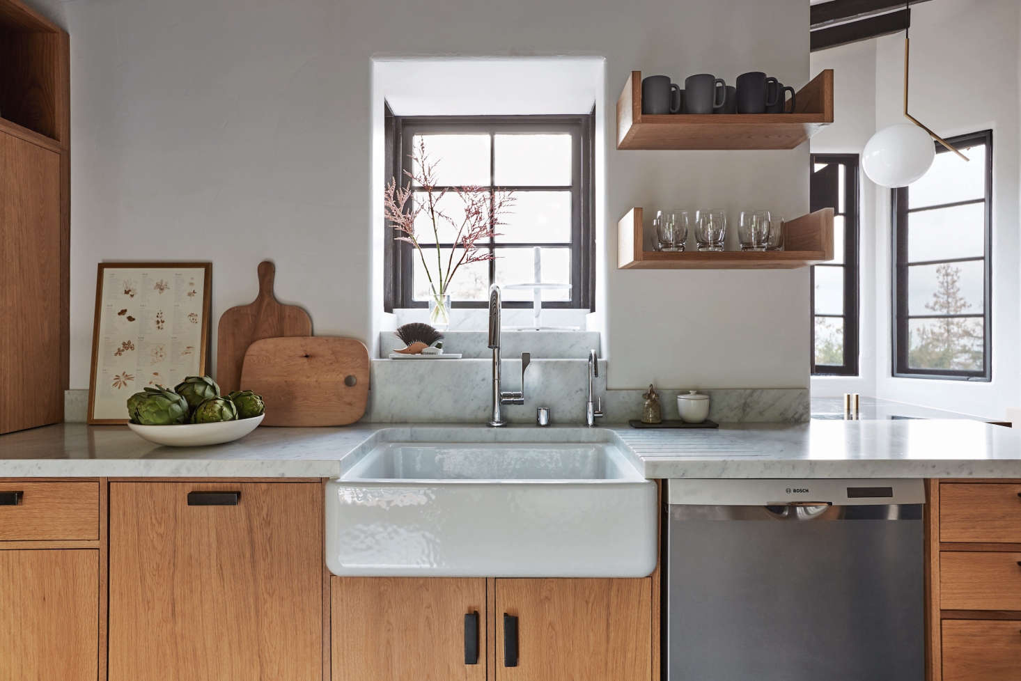 A Dishwasher Is Conveniently Located Next To The Sink In Kitchen Of Week