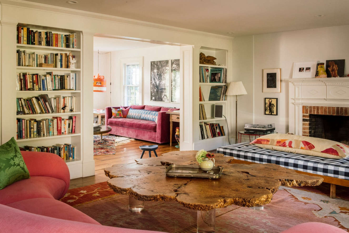 'Weirdness and Charm' in an Upstate New York Farmhouse