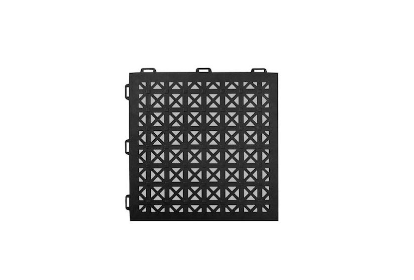 Greatmats Staylock Perforated Pvc Plastic Interlocking Tile