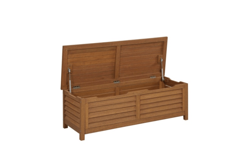 Montego bay patio deck box Home depot benches