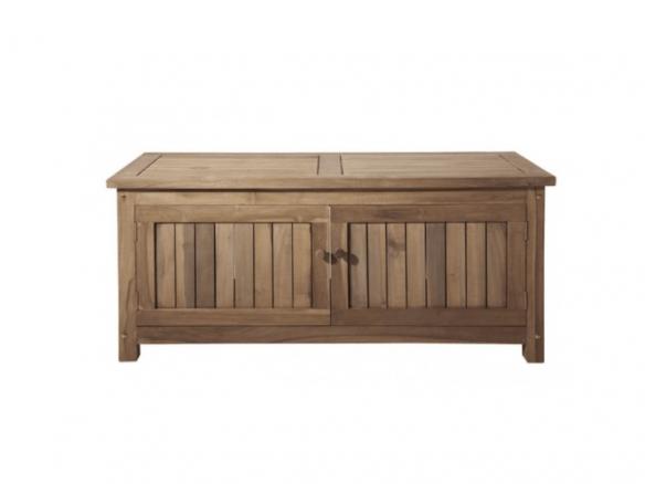 sc 1 st  Remodelista & Keymar Teak Outdoor Storage Bench