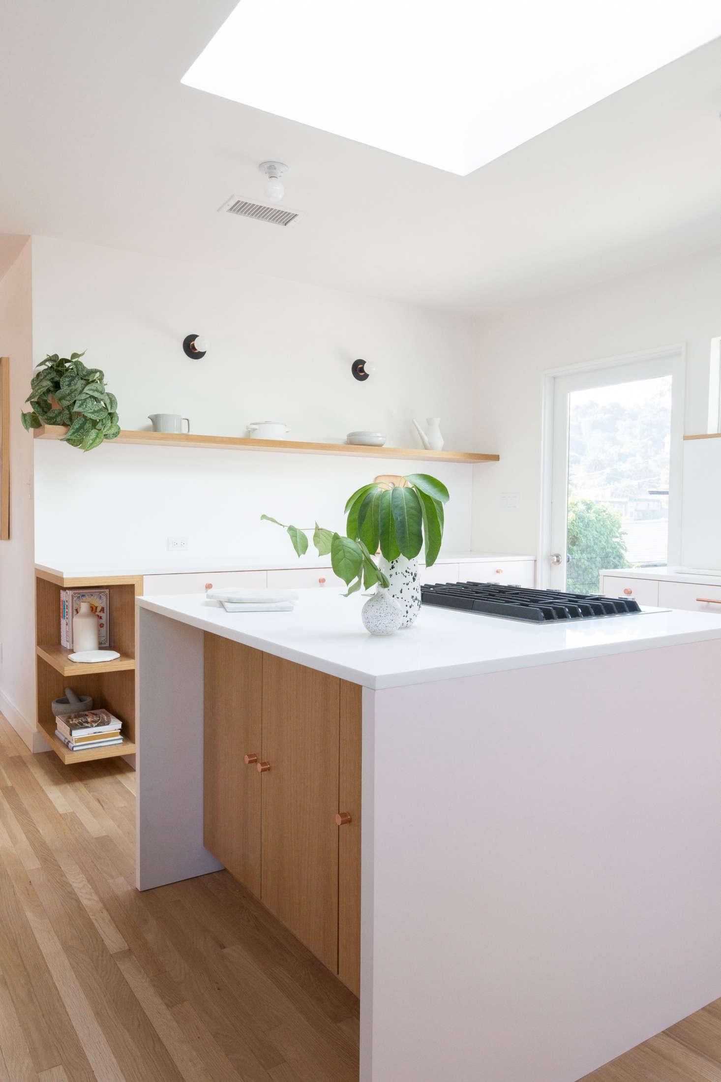 Silver Pink Kitchen