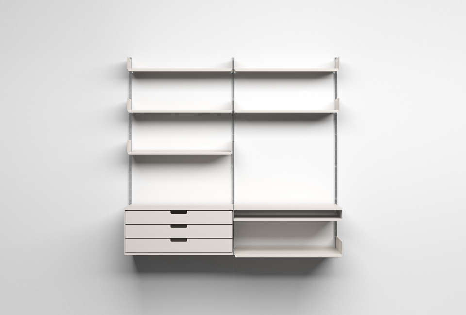 Superb 10 Easy Pieces Wall Mounted Shelving Systems Remodelista Home Interior And Landscaping Ferensignezvosmurscom