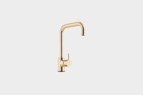 Vola Basin Or Kitchen Faucet With Double Swivel Spout