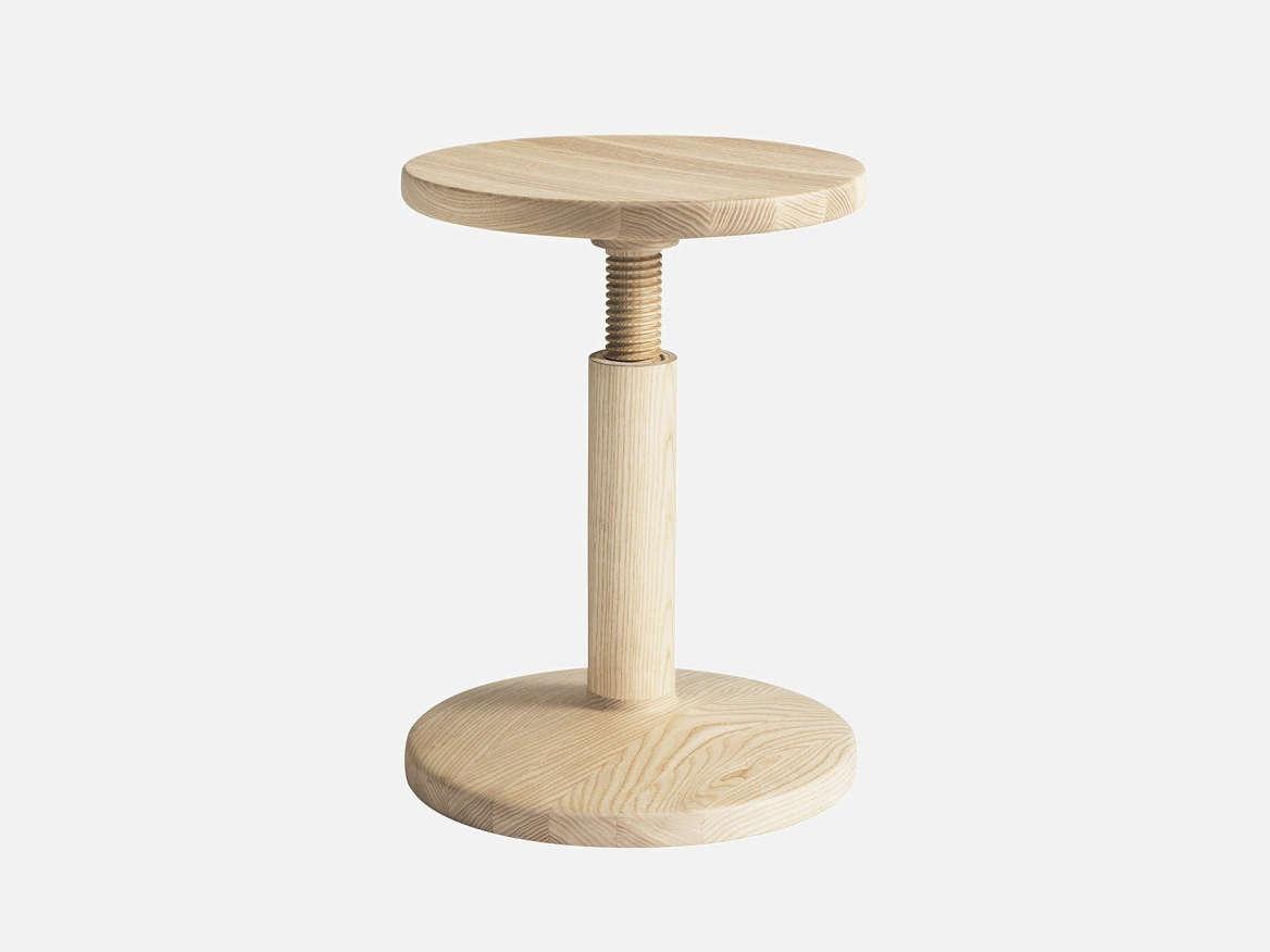 karoline all wood stool