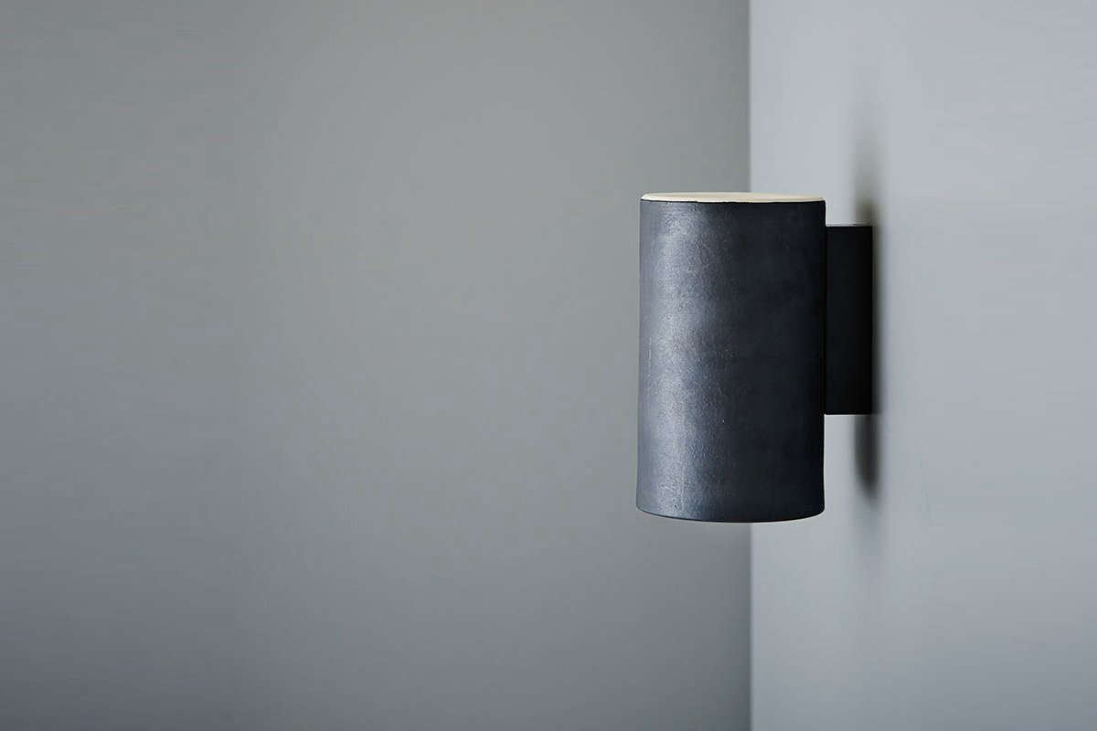 Earth light architectural wall lamps by anchor ceramics remodelista amipublicfo Gallery