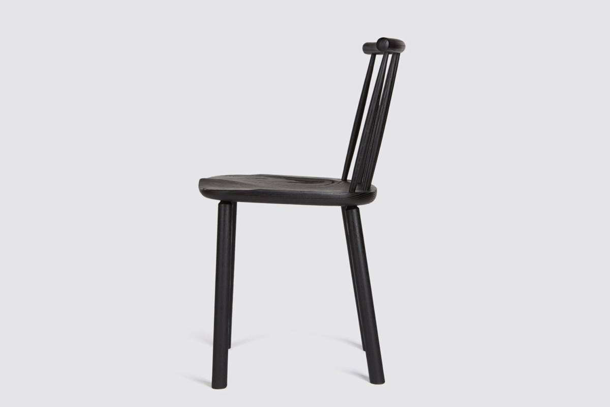 The Hardy Side Chair in Black is also£395 ($5