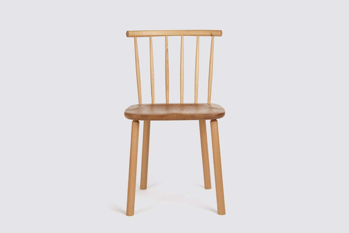 The design is also available in Oak, shown here, for£395 ($5