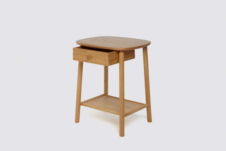 Hardy Side Table in Oak With Drawer by Another Country