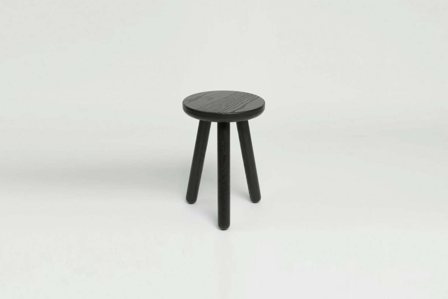 TheAnother Country Stool One in black wood is £5.