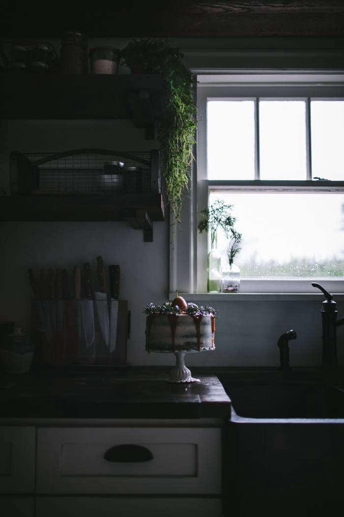 In Flores' kitchen.