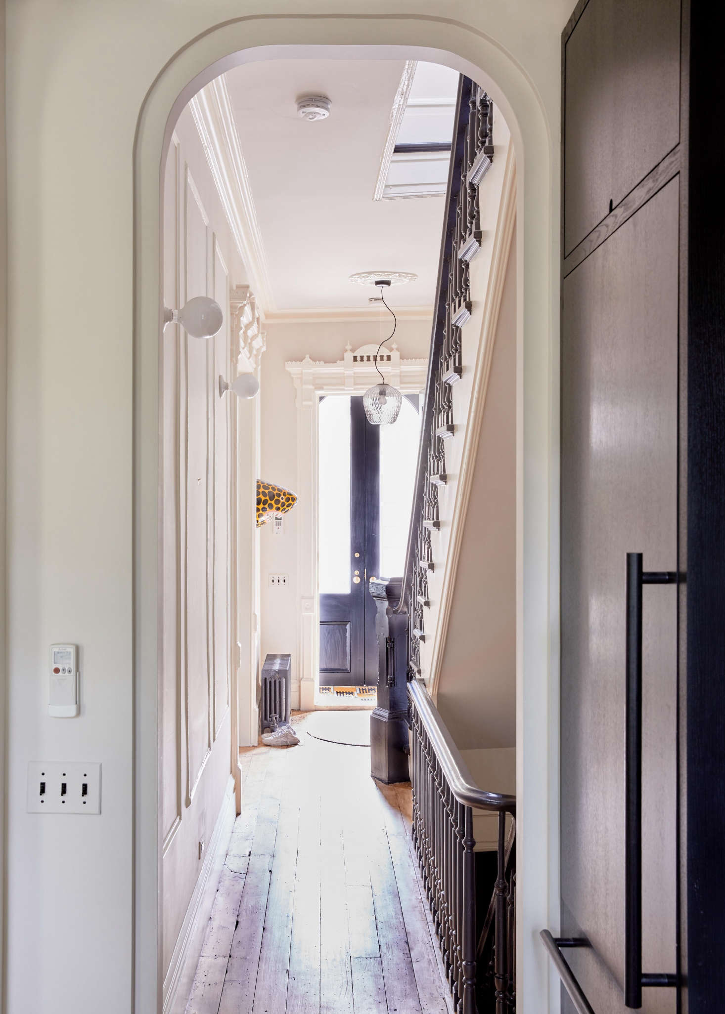 The Sentimental Minimalist: A Young Architect's Bed-Stuy Townhouse Makeover
