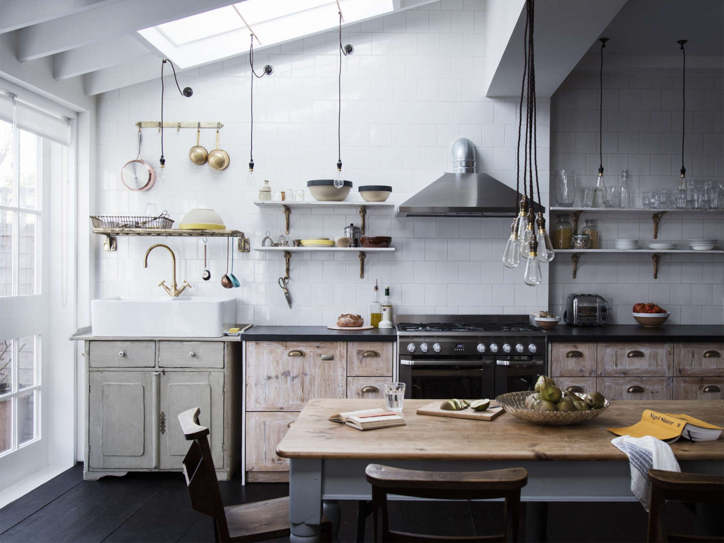 Steal this look a makeshift victorian kitchen in london for Kitchen ideas london