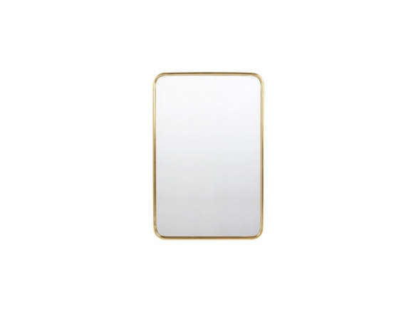 Metal Framed Mirror - Rounded Rectangle