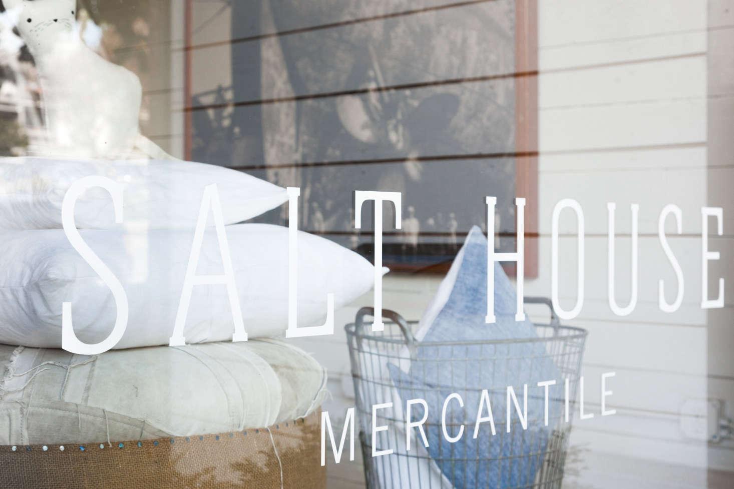 Salt House Mercantile is located at119 Winslow Way East onBainbridge Island.