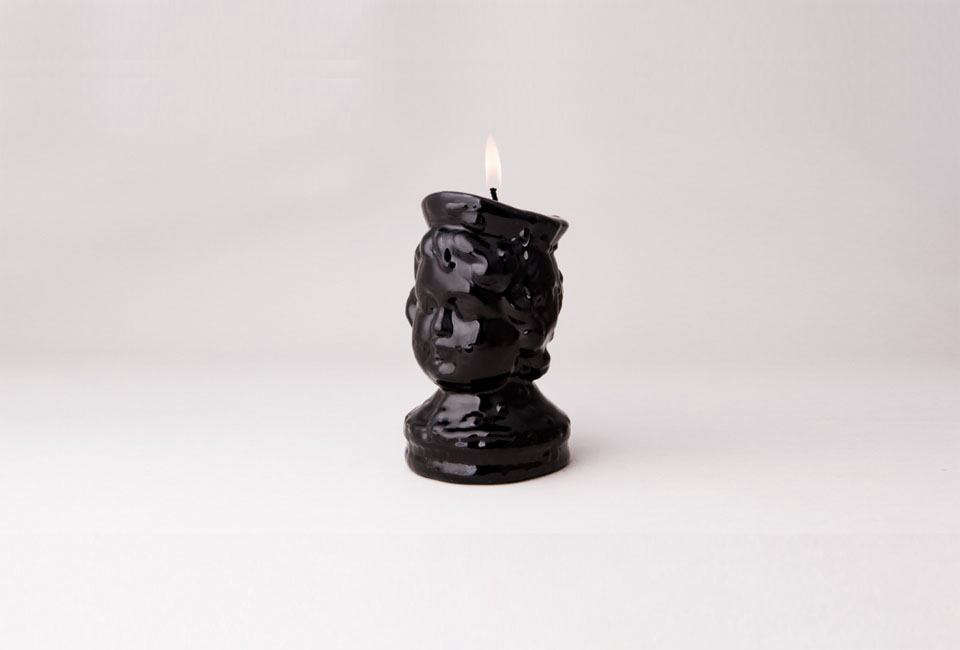 The Black Wax Boy S Head Candle Is From Oldest Candlemaker In Lisbon Portugal