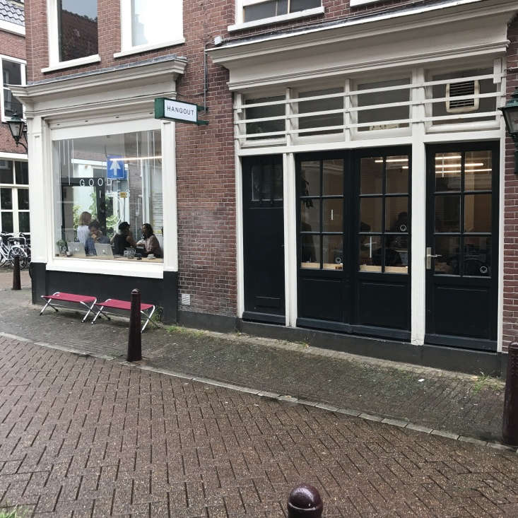 Exterior of Toki Cafe in Amsterdam