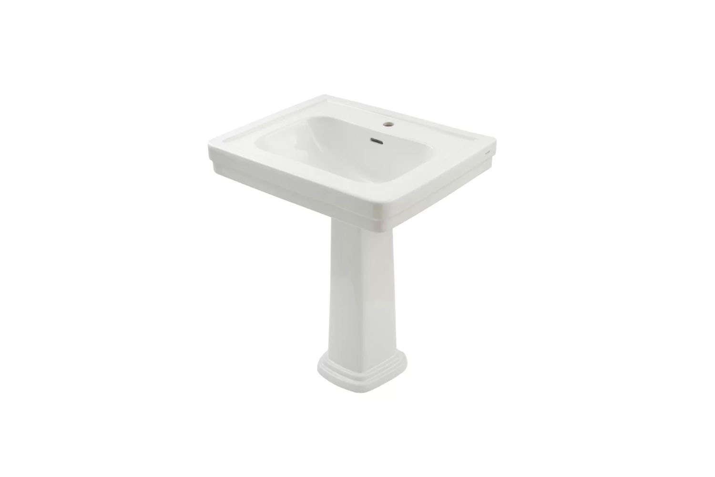 Simple Toto Promenade Inch Pedestal Bathroom Sink
