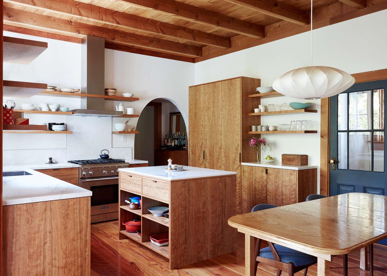 Kitchen Of The Week Aya Brackett S Hippie House Update In