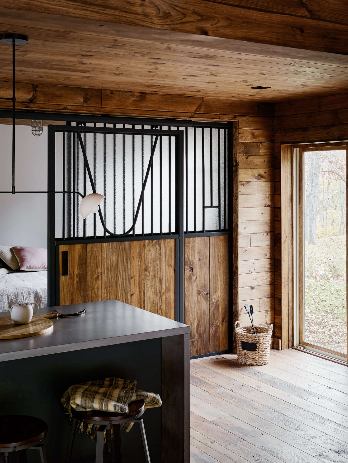 A Converted Catskills Guest Barn For Actress Amanda