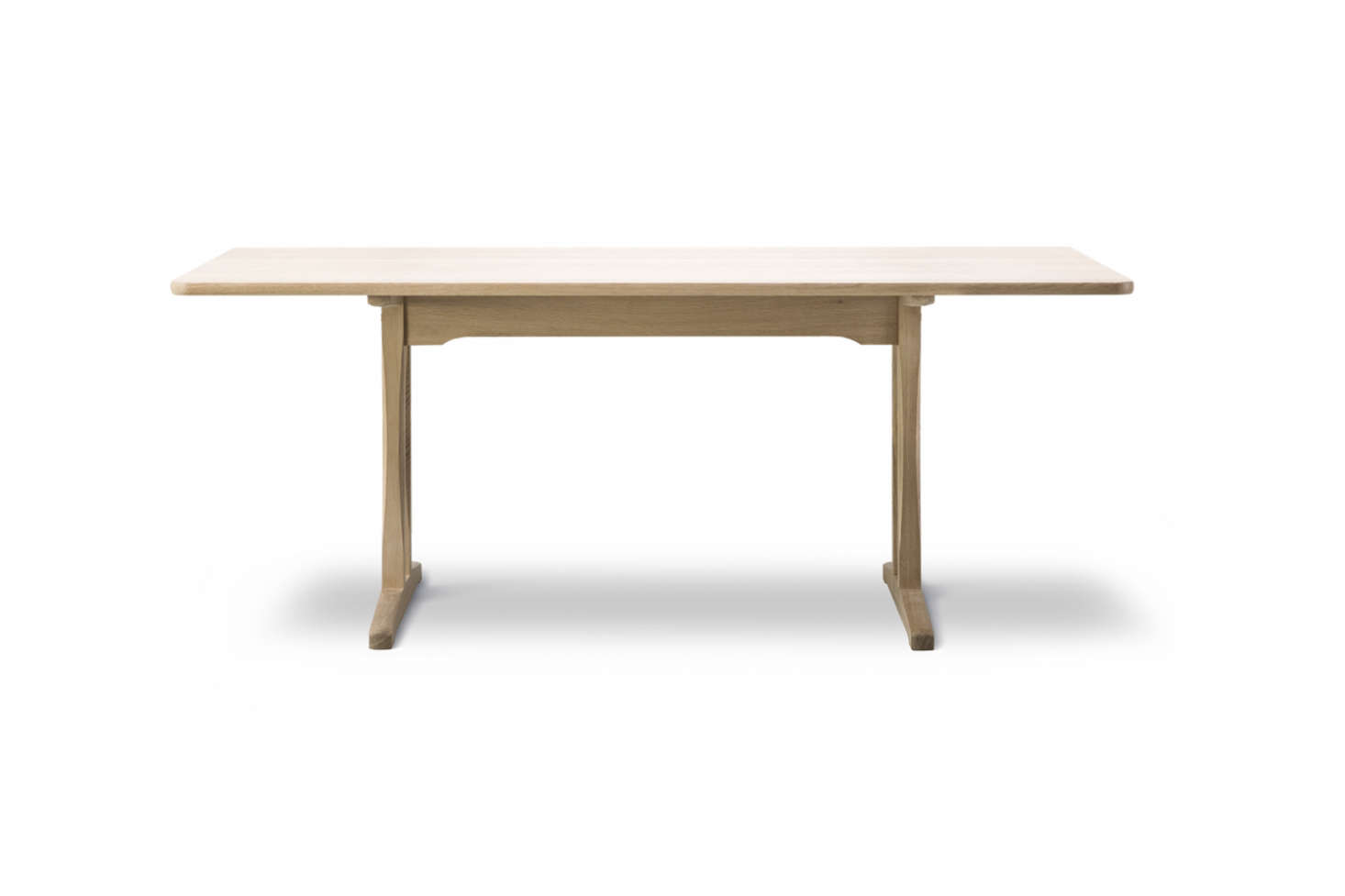 The Børge Mogensen C18 Shaker Dining Table In Soaped Oak Is $3,590 At The  Danish Design
