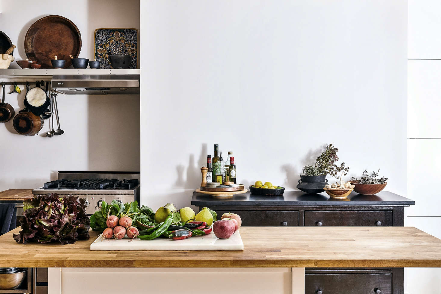 Good Enough For A Chef: A Butcher Block Countertop In The Manhattan Kitchen  Of