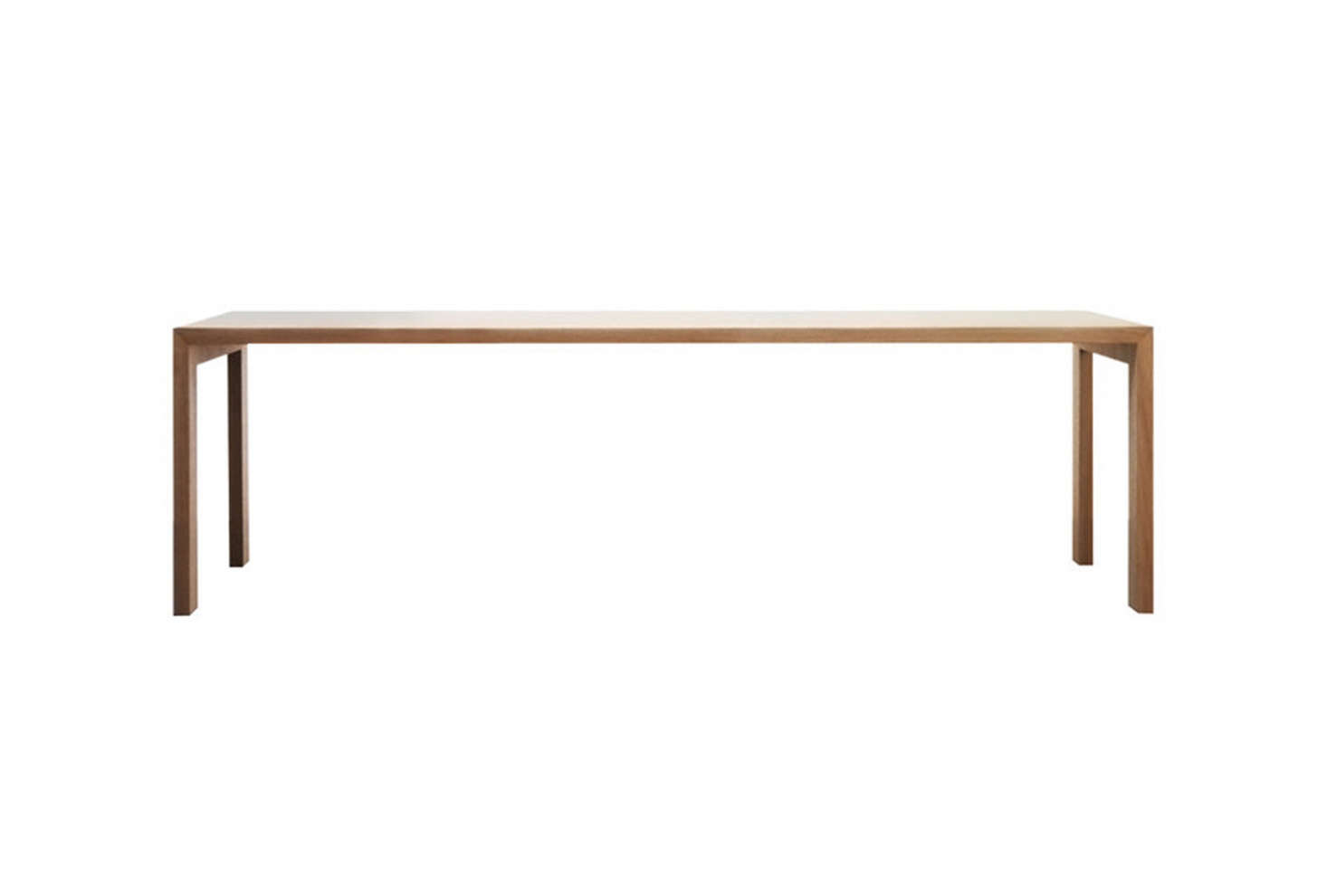 TheGamma Table by Jasper Morrison for Cappellini is available in oak or lacquer, in 12 finishes; £3,980 ($5,240) at TwentyTwentyOne.