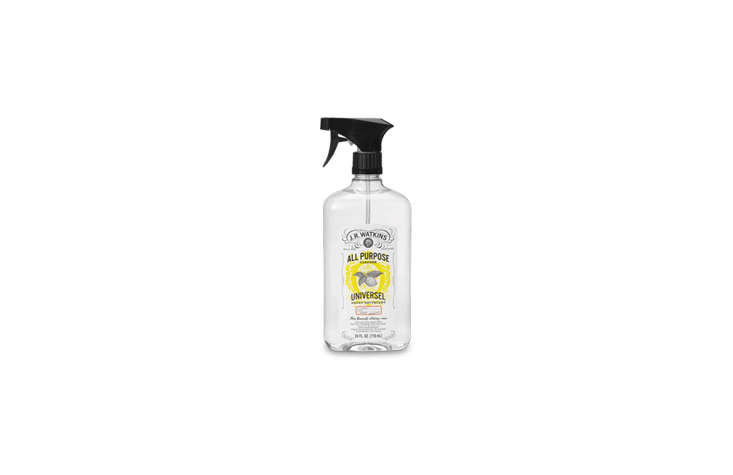J. R. Watkins offers All-Purpose Cleaners in six natural scents, from lemon to grapefruit, all of them chemical-free; $4.99 each.