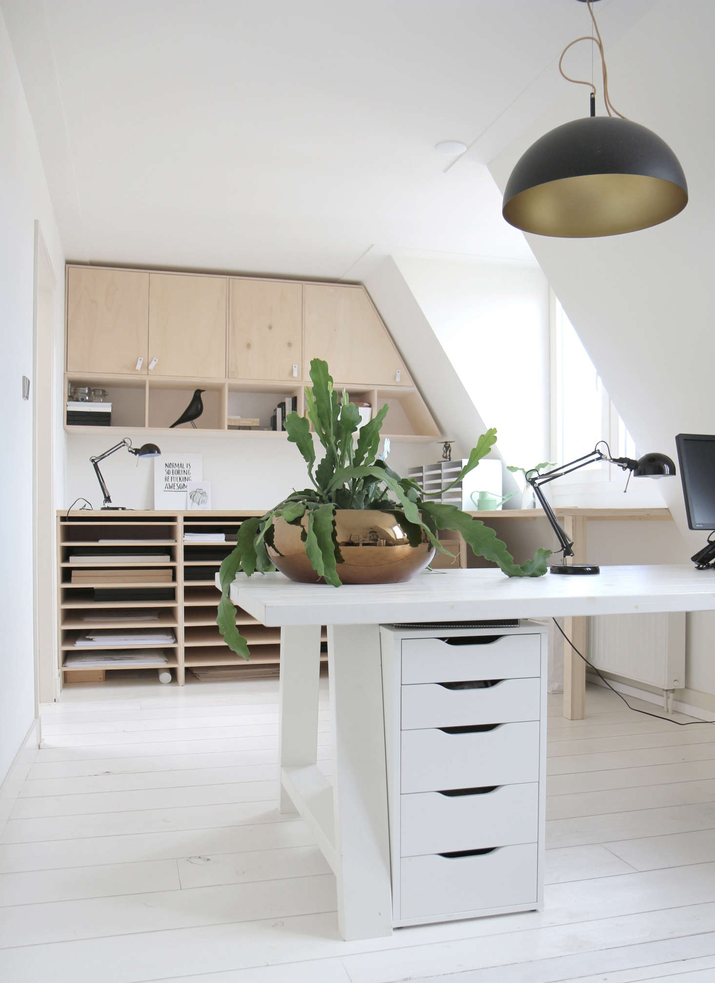 Living with house plants and botanical art Dutch designer and artist ...