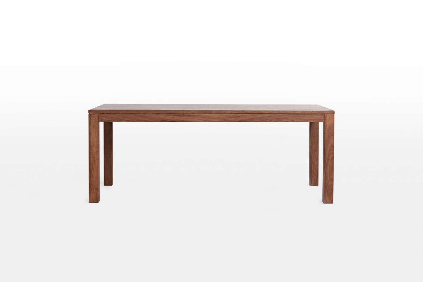 Available in walnut (shown) and White Oak, theLarge Crosby Table is $1,599 for the 78 3/4-inch size at Rejuvenation.