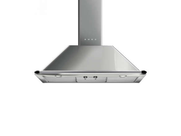 Smeg Victoria 36 In Wall Mount Chimney Range Hood