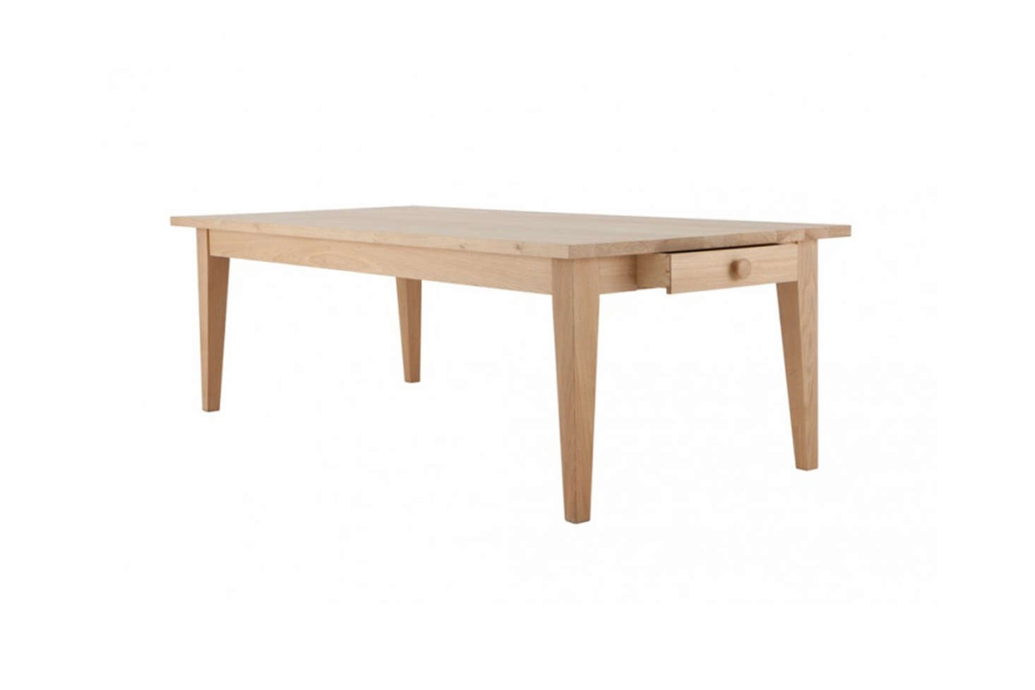 The solid oak 110-centimeter-wide (43-inch-wide)Wardour Dining Table is on sale for £5,895 ($7,743) at Conran in the UK.