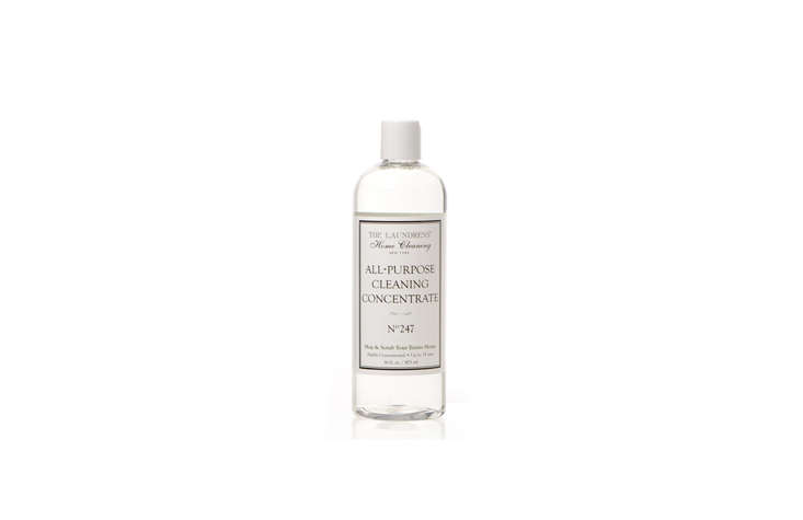 Another Remodelista favorite, The Laundress, has ventured from laundry essentials to the rest of the home. Their All-Purpose Cleaning Concentrate ($src=