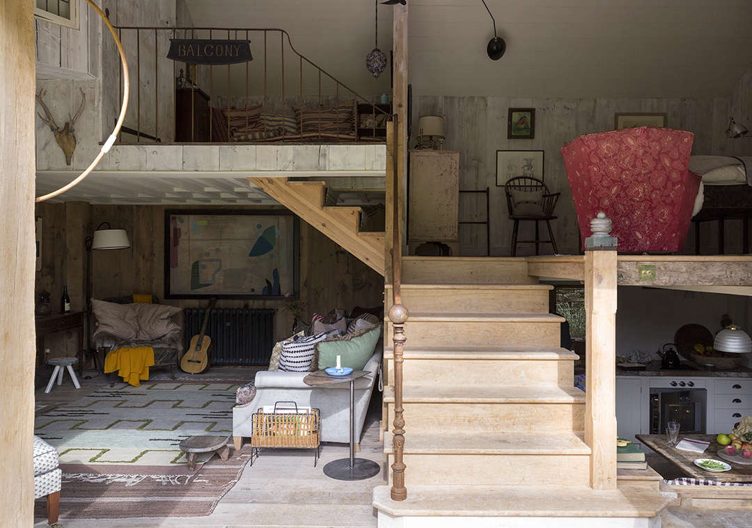 A Gloucestershire Barn, by London\'s Idiosyncratic Antiquarian ...