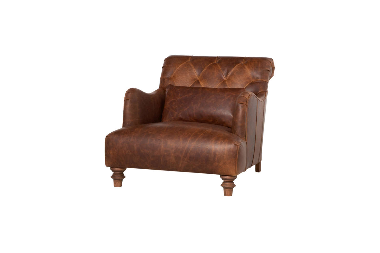 The Cisco Brothers Acacia Leather Chair Has A 28.5 Inch Seat Depth And Is  Available