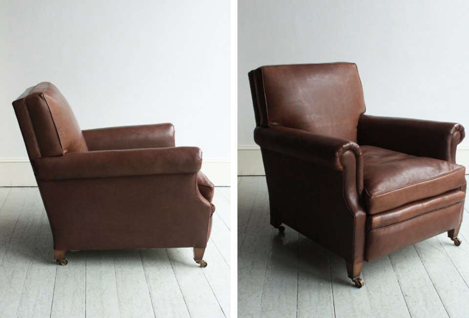 From Londonu0027s Christopher Howe, The Club Armchair Is Made Of Hand Stitched  Horsehair And