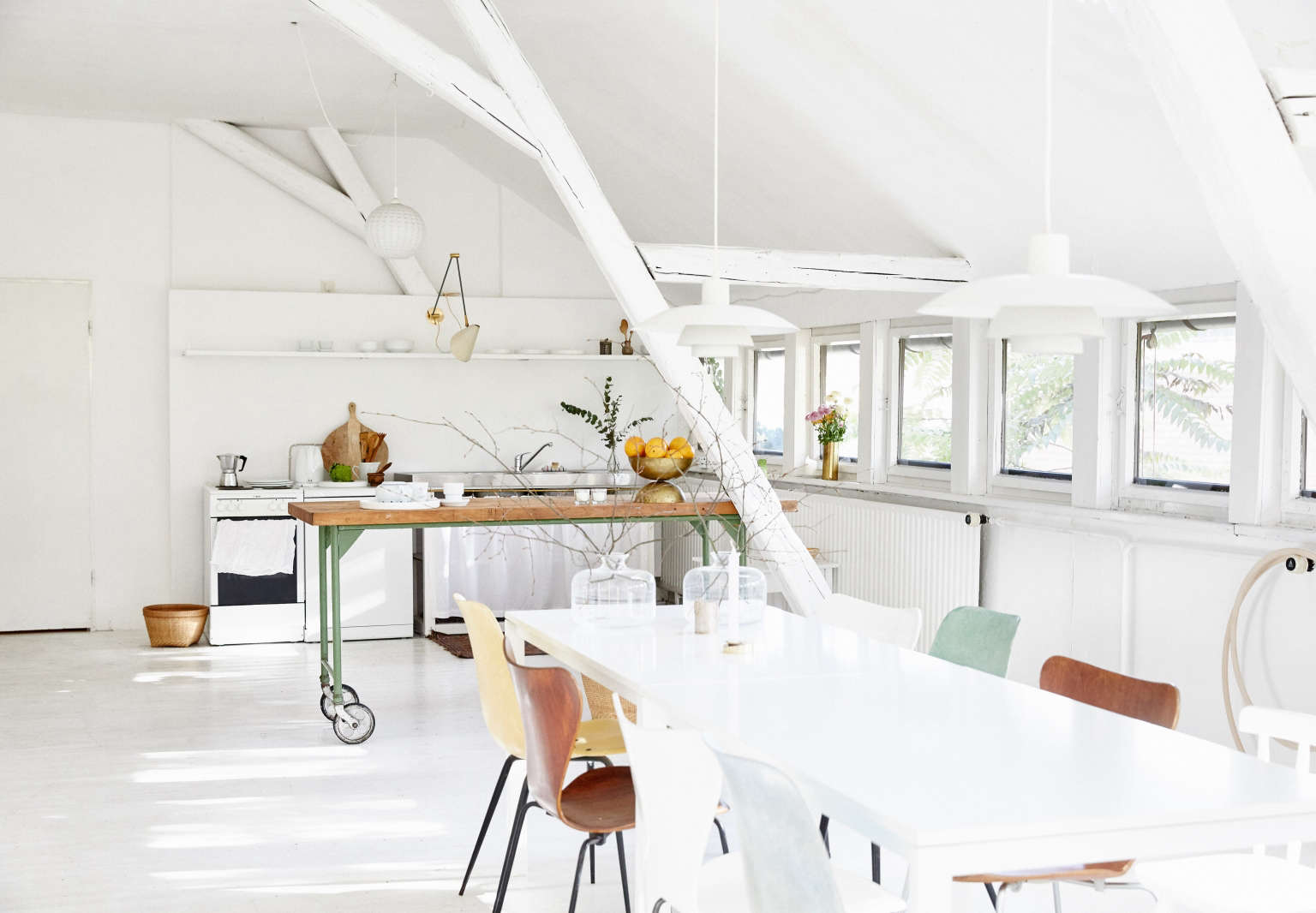 Living above the studio: at home with Lappalainen