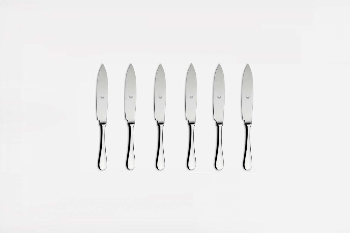 Mepra Makes The Italian Steak Knives Set Of 4 In Six Different Finishes  (from Brass