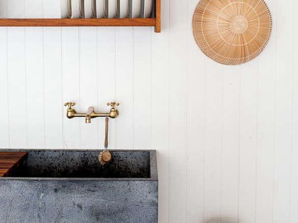 Kitchen Sink In Mjolk Cottage, Cover Image Cropped