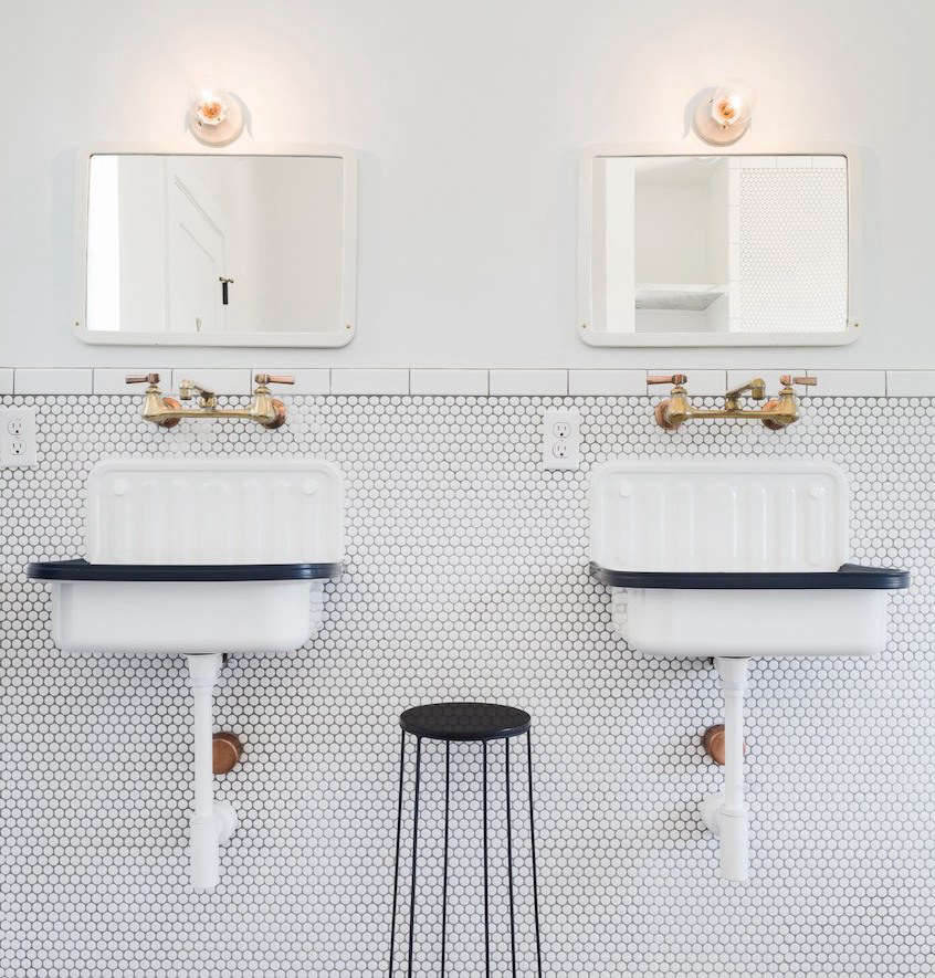 Remodeling 101 In Praise Of Wall Mounted Faucets Remodelista