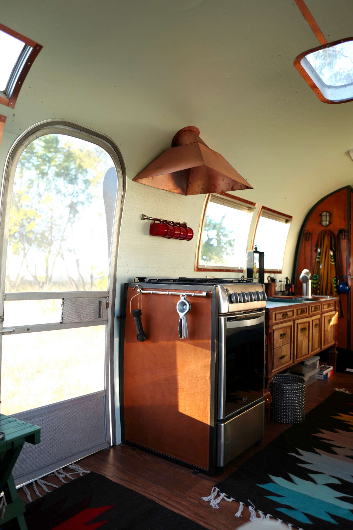 Vintage Airstream Makeover by Casamidy