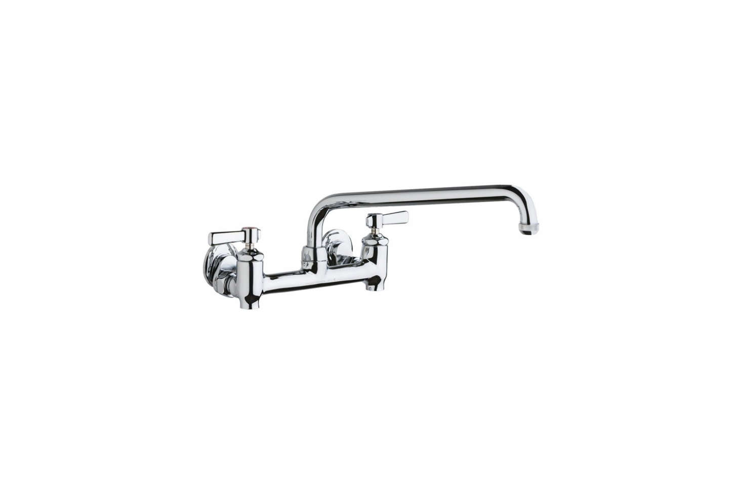 The Chicago Faucets Universal Hot & Cold Water Sink Faucet is $246.62 at eFaucets.