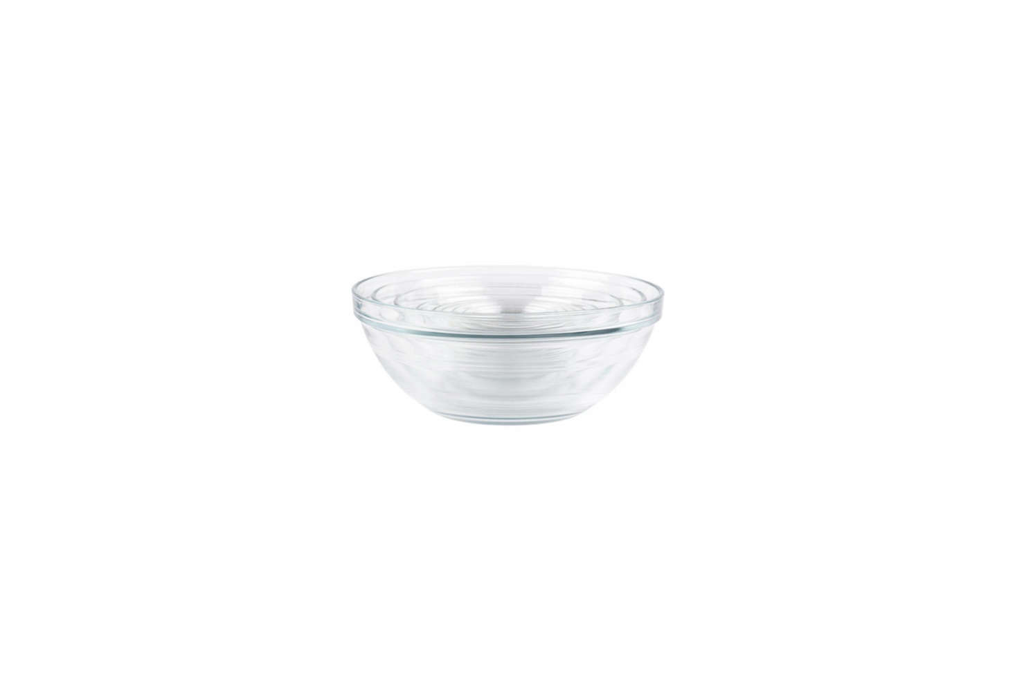 The Duralex Lys Stackable 10-Piece Bowl Set has bowls sized for mixing and prep; $39.49 for the set on Amazon.