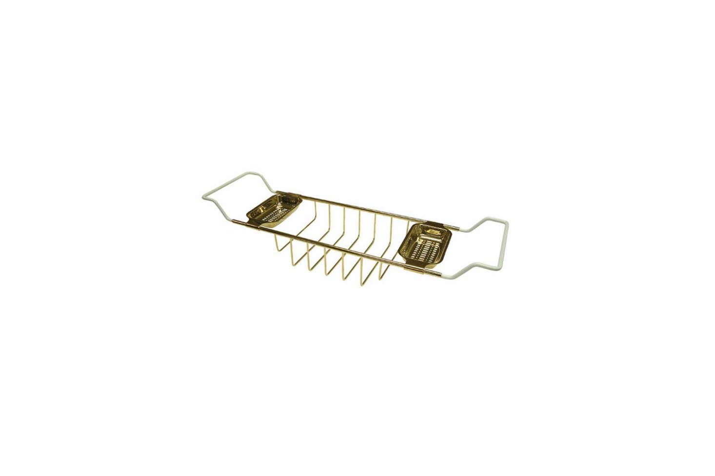 TheKingston Brass Claw Foot Bathtub Caddy in Polished Brass is $86.5src=